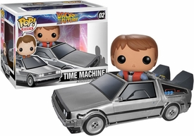 Funko POP! Back to the Future Vinyl Vehicle Delorean New!