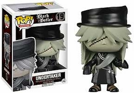 Funko POP! Black Butler Vinyl Figure Undertaker New!