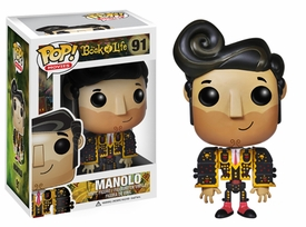 Funko POP! Book of Life Vinyl FIgure #91 Manolo New!