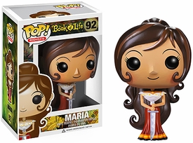 Funko POP! Book of Life Vinyl FIgure Maria Pre-Order ships September