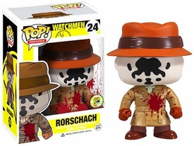 Funko POP! DC Watchmen 2013 SDCC San Diego Comic-Con Exclusive Vinyl Figure Bloody Rorschach
