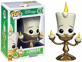 Funko POP! Disney Beauty and the Beast Vinyl Figure Lumiere New!