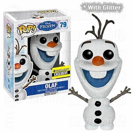 Funko POP! Disney Frozen Exclusive Vinyl Figure Glitter Olaf Hot! Pre-Order ships October