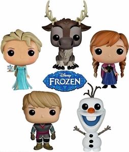 Funko POP! Disney Frozen Set of 5 Vinyl Figures [Anna, Elsa, Kristoff, Olaf & Sven] MEGA Hot! Pre-Order ships September