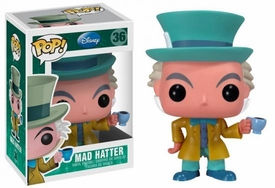 Funko POP! Disney Series 3 Vinyl Figure Mad Hatter [Alice in Wonderland] Damaged Package, Mint Contents!
