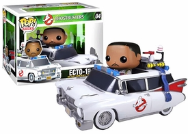 Funko POP! Ghostbusters Vinyl Figure & Vehicle Winston Zeddmore & Ecto-1 Pre-Order ships July