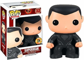 Funko POP! Man of Steel 2013 SDCC San Diego Comic-Con Exclusive Vinyl Figure Superman [Black Costume]