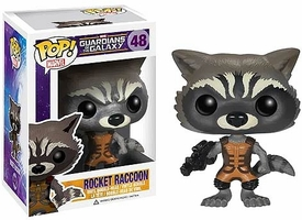 Funko POP! Marvel Guardians of The Galaxy Vinyl Bobble Head Rocket Raccoon New MEGA Hot!
