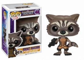 Funko POP! Marvel Guardians of The Galaxy Vinyl Bobble Head Rocket Raccoon Pre-Order ships November