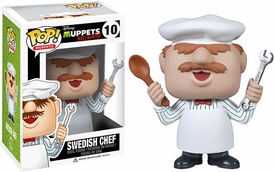 Funko POP! Muppets Most Wanted Vinyl Figure Swedish Chef New!