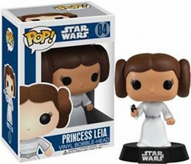 Funko POP! Star Wars Bobble Head Princess Leia New!