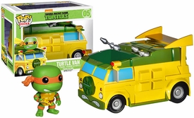 Funko POP! Teenage Mutant Ninja Turtles Vinyl Vehicle Turtle Van Pre-Order ships September