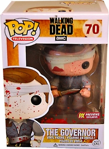 Funko POP! Walking Dead PX Previews Exclusive Vinyl Figure The Governor [Bloody]
