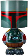 Funko Star Wars 12 Inch Lamp, Alarm Clock & MP3 Speaker Boba Fett