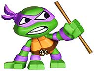 Funko Teenage Mutant Ninja Turtles Mystery Mini Figure Donatello Pre-Order ships July