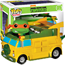 Funko POP!  Ninja Turtles Van!