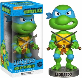 Funko Teenage Mutant Ninja Turtles Wacky Wobbler Bobble Head Leonardo Pre-Order ships September