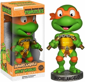 Funko Teenage Mutant Ninja Turtles Wacky Wobbler Bobble Head Michelangelo Pre-Order ships September
