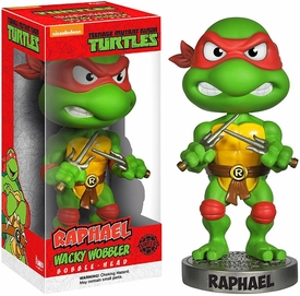Funko Teenage Mutant Ninja Turtles Wacky Wobbler Bobble Head Raphael Pre-Order ships September