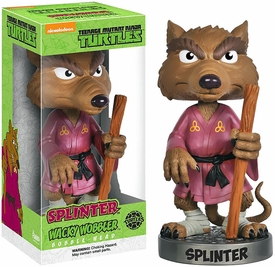 Funko Teenage Mutant Ninja Turtles Wacky Wobbler Bobble Head Splinter Pre-Order ships October