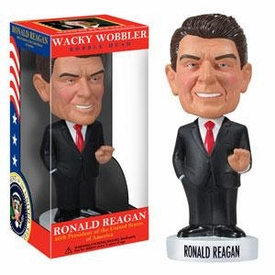 Funko Wacky Wobbler Bobble Head President Ronald Reagan