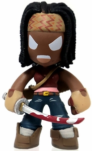 Funko Walking Dead Series 2 Mystery Mini Vinyl Figure Angry Michonne [Mouth Open]