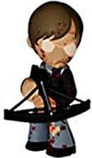 Funko Walking Dead Series 2 Mystery Mini Vinyl Figure Daryl Dixon [Bloody]