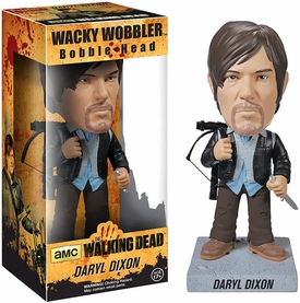 Funko Walking Dead Wacky Wobbler Bobble Head Biker Daryl