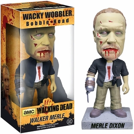 Funko Walking Dead Wacky Wobbler Bobble Head Zombie Merle