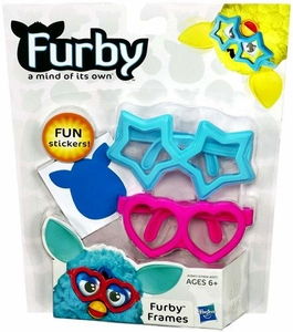 Furby Frames Blue & Pink [Includes Stickers!]