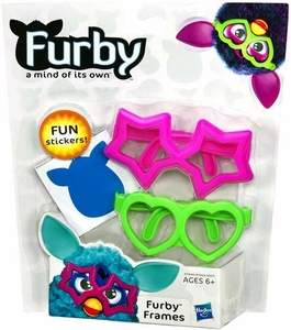 Furby Frames Pink & Green [Includes Stickers!]
