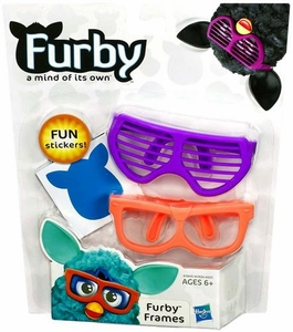 Furby Frames Purple & Orange [Includes Stickers!]