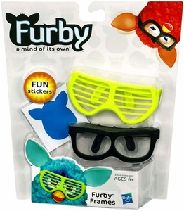 Furby Frames Yellow & Black [Includes Stickers!]
