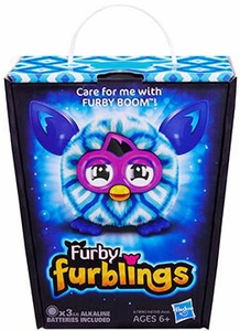 Furby Furblings Figure Blue Diamonds New!