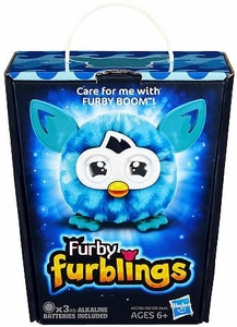 Furby Furblings Figure Blue Waves New!