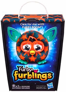 Furby Furblings Figure Orange Stars