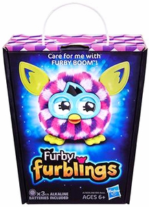 Furby Furblings Figure Pink Cubes New!