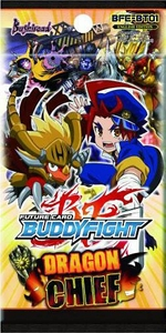 Future Card BuddyFight BFE-BT01 Dragon Chief Booster Pack Hot!