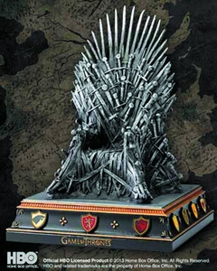 Game of Thrones Bookend Iron Throne  Pre-Order ships July