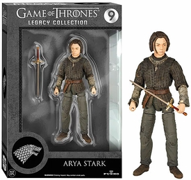 Game of Thrones Funko Legacy Collection Series 2 Action Figure Arya Stark Pre-Order ships October
