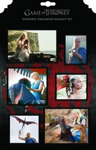 Game of Thrones Magnet Set Daenerys Targaryen  Pre-Order ships September