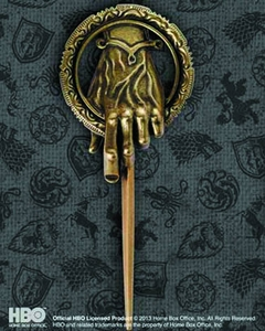 Game of Thrones Replica Pin Hand of The King Pre-Order ships July