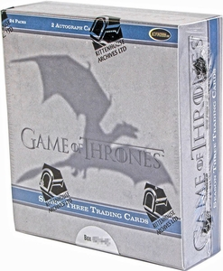 Rittenhouse Game of Thrones Season 3 Trading Card Box [24 Packs]