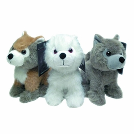 Game of Thrones Set of 3 Plush Dire Wolfs Pre-Order ships August