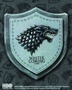 Game of Thrones Wall Plaque Stark House Crest Pre-Order ships July