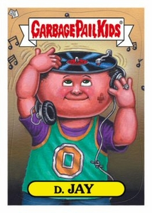 Garbage Pail Kids 2012 Brand New Series 1 Trading Card Complete Set [1a-55a & 1b-55b]