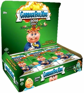 Topps Garbage Pail Kids 2014 Series 1 COLLECTORS EDITION Box [24 Packs]