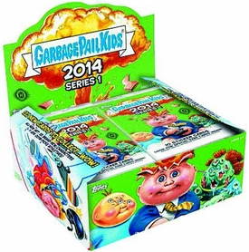 Garbage Pail Kids 2014 Series 1 HOBBY Box [24 Packs]