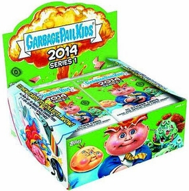 Topps Garbage Pail Kids 2014 Series 1 RETAIL Box [24 Packs]