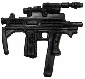 Generic 3 3/4 Inch LOOSE Action Figure Accessory Black Custom Mac 10 SMG